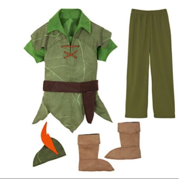 Original Costumes For Kids.Peter Pan Costume Kids Size 4